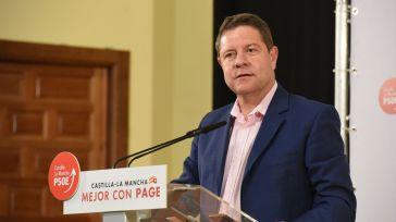 """García-Page asegura que Castilla-La Mancha tendrá """"un aliado"""" en el Gobierno de España para la defensa del agua"""