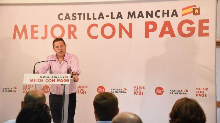 """García-Page: """"CLM aprobará el próximo martes la mayor inversión en política de mayores de los últimos 20 años"""""""