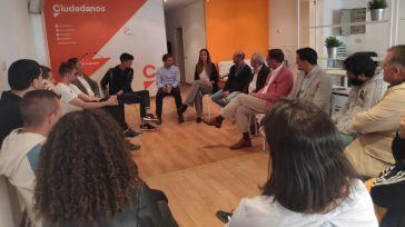 Ciudadanos Guadalajara se reúne con diferentes clubs deportivos para defender el deporte base
