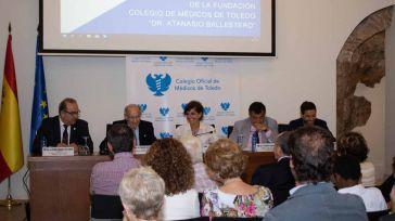 Emoción y homenaje del Colegio de Médicos de Toledo al Dr. Atanasio Ballestero en la presentación de la Fundación que lleva su nombre