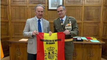 La Subdelegación de Defensa de Cuenca homenajea a Globalcaja