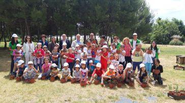Más de medio centenar de alumnos de la provincia de Toledo celebran el Día del Medio Ambiente en el Vivero Central y el Centro de Calidad del Aire de la Junta de Comunidades