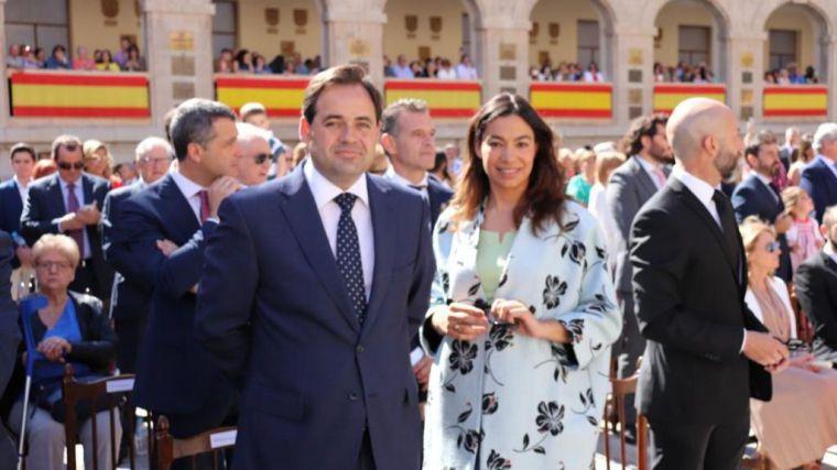 Núñez asiste al Acto de Juramento a la Bandera de España en Toledo