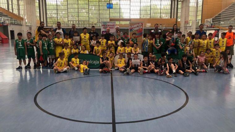 Éxito de la jornada final del I Circuito Benjamín Regional Globalcaja de Baloncesto, con más de 200 participantes