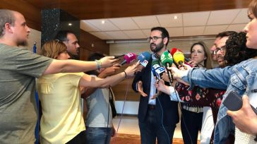 Sergio Gutiérrez califica de 'ejercicio de responsabilidad' los acuerdos alcanzados con Ciudadanos