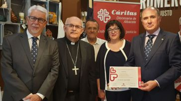 Globalcaja, reconocida por Cáritas Diocesana de Albacete