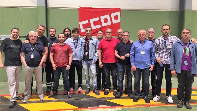 CCOO logra la mayoría absoluta en los dos comités de empresa del Grupo Airbus en CLM