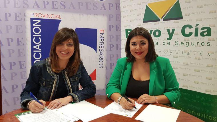 Ambicioso convenio de colaboración entre la Asociación Provincial de Empresarios de Siderometalurgia de Ciudad Real y la Correduría Bravo y Cía