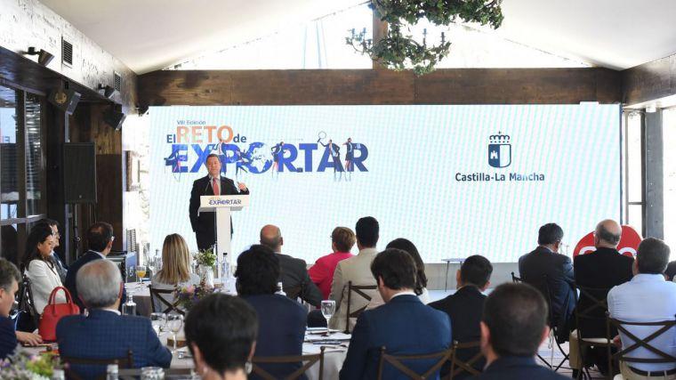 García Page anuncia el II Plan para impulsar las exportaciones de Castilla-La Mancha, 'la gran despensa de Europa'