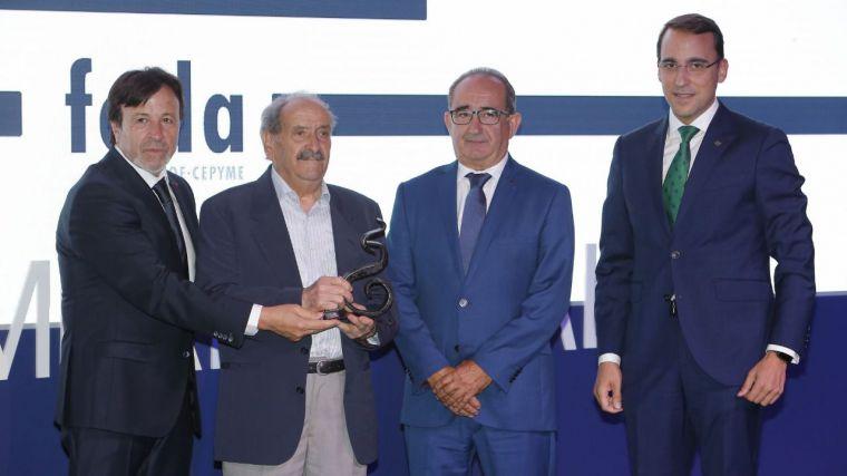 Globalcaja destaca el protagonismo del sector empresaria en el desarrollo de la región, durante los XX Premios FEDA