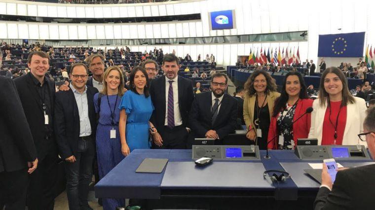 Cristina Maestre se estrena como eurodiputada en la constitución del nuevo Parlamento Europeo