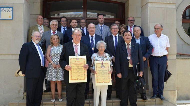 La profesora de la UCLM Dolores Cabezudo entra con honores en la Academia de Gastronomía de Castilla-La Mancha