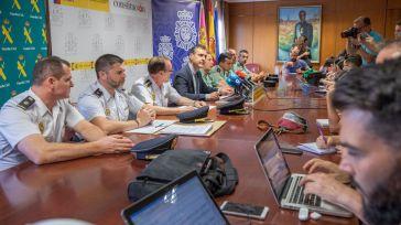 Detenidos en Toledo los 11 integrantes de un grupo criminal especializado en el robo y despiece de vehículos