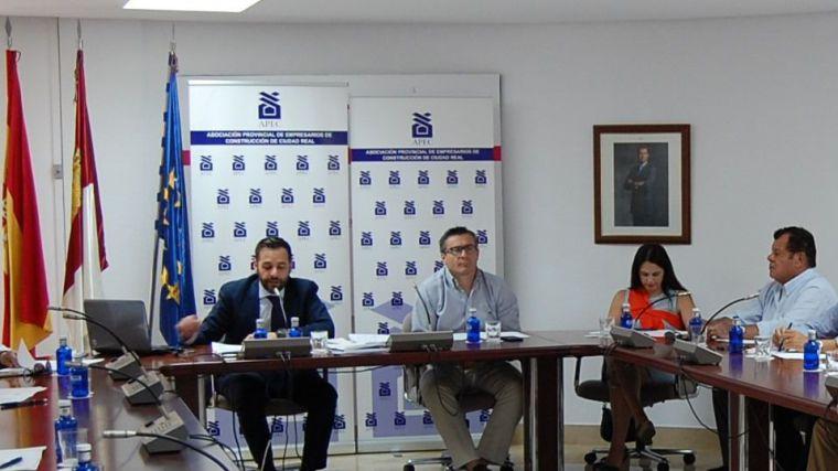 La Asociación Provincial de Empresarios de Construcción de Ciudad Real reelige a Manuel Carmona como presidente