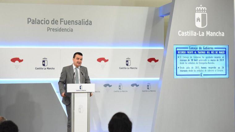 Nuevo recurso contra el acuerdo de la Comisión Central de Explotación del trasvase