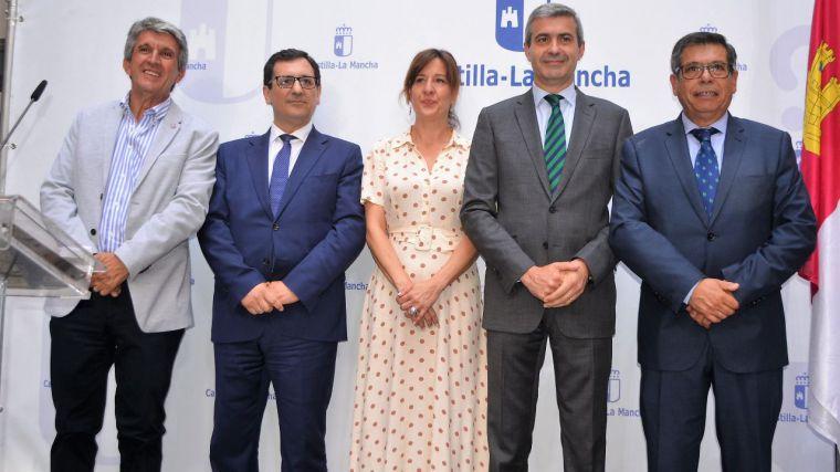 Álvaro Gutiérrez ofrece a Javier Úbeda colaboración institucional para trabajar por la provincia de Toledo