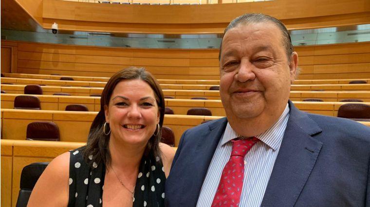 Jesús Fernández Vaquero y Mayte Fernández adquieren su condición plena de senadores