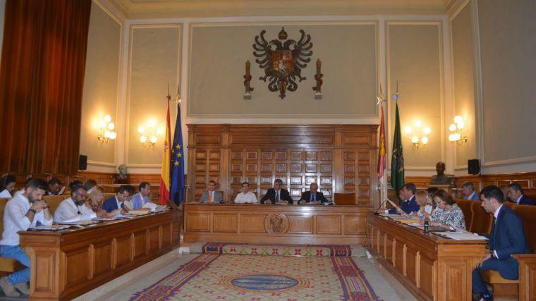 Unanimidad para aprobar el nuevo organigrama de la Diputación de Toledo de la segunda legislatura de Álvaro Gutiérrez