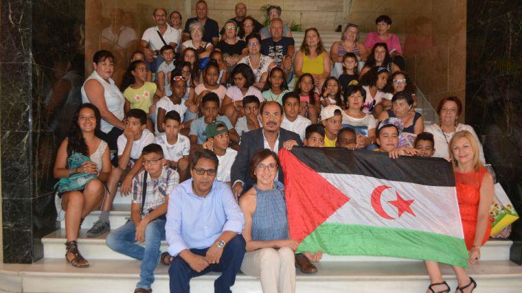 La Diputación de Toledo agradece la enorme solidaridad de las familias toledanas que acogen en verano a los niños y niñas saharauis