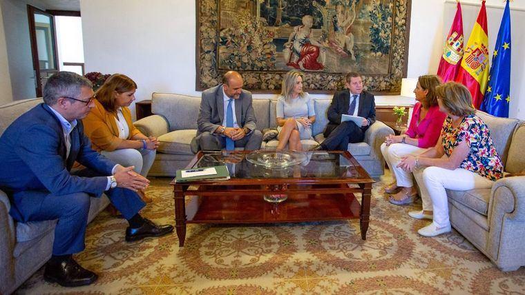 La reunión CLM-Ministerio para acercar posturas sobre el trasvase se salda con tres acuerdos, ninguno de ellos sobre la explotación del acueducto
