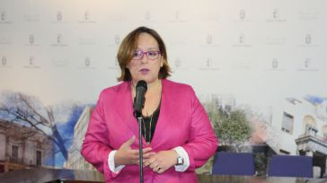 Acto de presentación del Pln Estratégico para Almadén en junio del año pasado