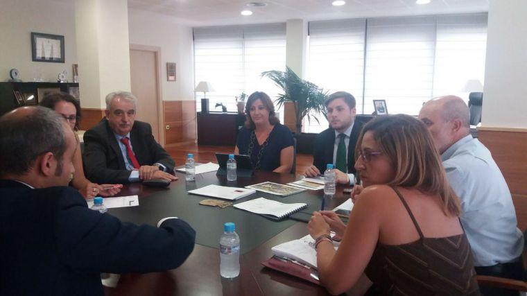 El Gobierno de Castilla-La Mancha se reúne con la plataforma Central Iberum