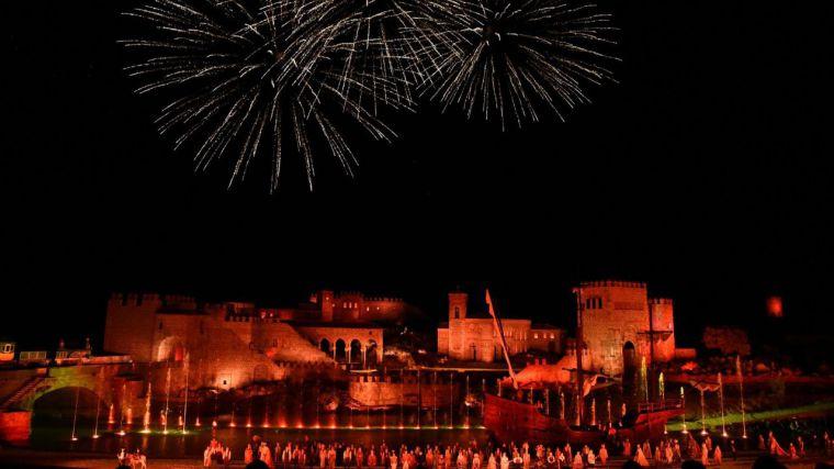 Puy du Fou estrena su espectáculo nocturno ante 4.000 asistentes