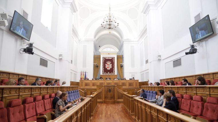 """Las Cortes de Castilla-La Mancha piden al Gobierno central """"la convocatoria urgente"""" del Consejo de Política Fiscal y Financiera"""
