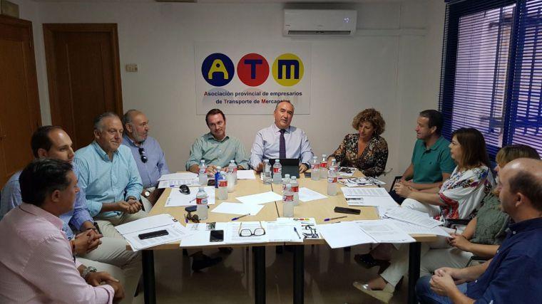 La Asociación Provincial de Empresarios de Transporte de Mercancías de Ciudad Real prepara la jornada del sector del próximo 5 de octubre