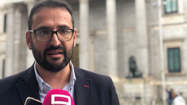 """Sergio Gutiérrez: """"El primer acuerdo en materia de agua tiene que ser la derogación inmediata del pacto de la vergüenza entre Cospedal y Rajoy para favorecer los intereses de Murcia"""""""