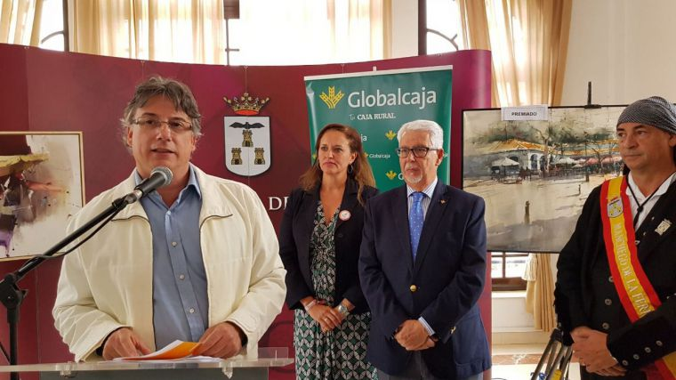 Globalcaja colabora en el XV Concurso de Pintura Rápida al Aire Libre
