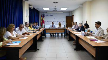 Núñez anuncia que el PP-CLM va a trabajar para revisar la normativa legal que rige al Tercer Sector para modificarla y dotarlo de seguridad jurídica y estabilidad económica