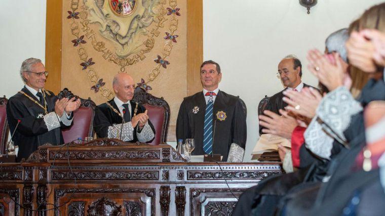 Calurosa acogida de las autoridades de la región en la toma de posesión de Juan Ramón Brigidano