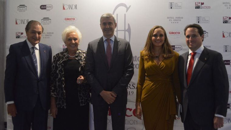 Álvaro Gutiérrez felicita a la familia Pastor por sus tres décadas creando empleo y riqueza en la ciudad de Toledo