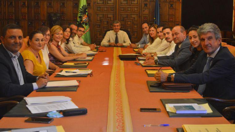 El Gobierno de la Diputación de Toledo destinará en torno a 10 millones de euros a inversiones en los municipios