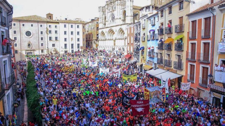 Globalcaja colaboró con varias actividades en las Fiestas de San Mateo en Cuenca