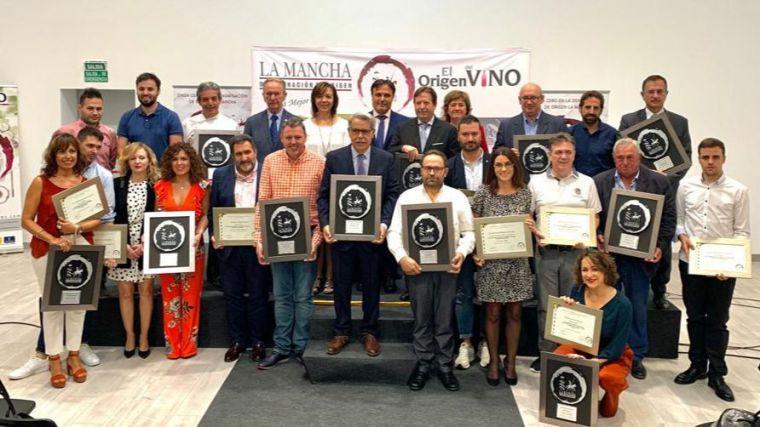 """Globalcaja, en los premios """"Vino y Cultura"""" de la DO La Mancha"""