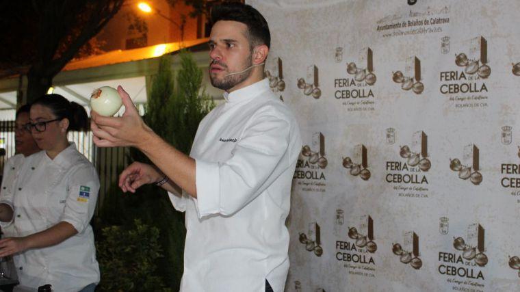 La gastronomía protagoniza la segunda jornada de la Feria de la Cebolla