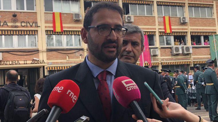 Sergio Gutiérrez (PSOE) felicita a la Guardia Civil y agradece su labor en la preservación de la seguridad y los derechos fundamentales