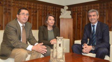 El presidente de la Diputación y el decano del Colegio de Economistas de Toledo, dispuestos a colaborar en proyectos de interés para la provincia