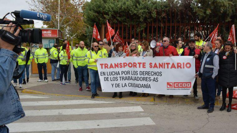 El conflicto laboral del Transporte Sanitario se recrudece y se precipita hacia la huelga general indefinida