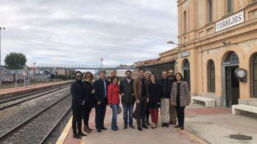 """Serrano defiende que los 'populares' han sido los únicos que han reivindicado un tren digno para la provincia de Toledo, """"independientemente de quien gobierne"""""""