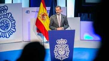 Felipe VI reconoce en Toledo la evolución de la Policía Nacional en materia de igualdad