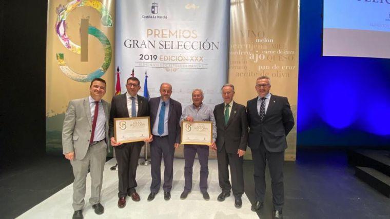 Globalcaja muestra su apoyo al sector agroalimentario de CLM en los Premios Gran Selección 2019