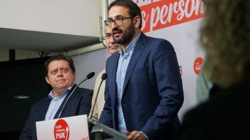 Gutiérrez: 'Somos la tercera comunidad donde más crece el PSOE en porcentaje de voto'
