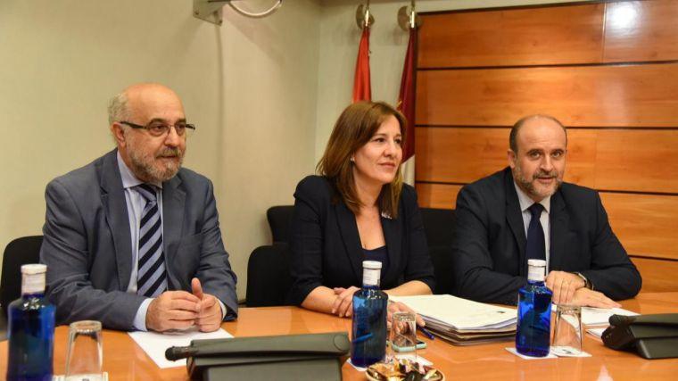El vicepresidente defiende que el presupuesto de la Presidencia de Castilla-La Mancha para 2020 apenas supone un 0,18% del total