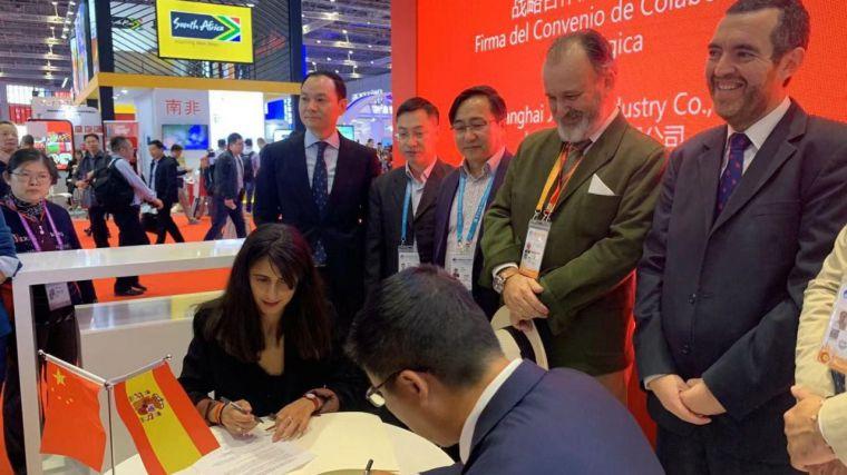 El Gobierno regional impulsa la promoción y comercialización del azafrán de La Mancha en el mercado chino