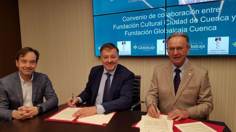 La Fundación Globalcaja Cuenca renueva su colaboración con la Fundación Cuenca Ciudad de Cultura