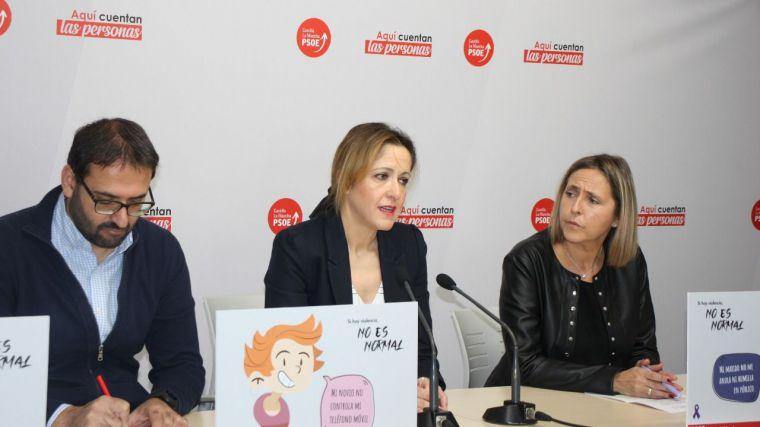 El PSOE de CLM reafirma su compromiso contra la violencia machista con la campaña #NoEsNormal