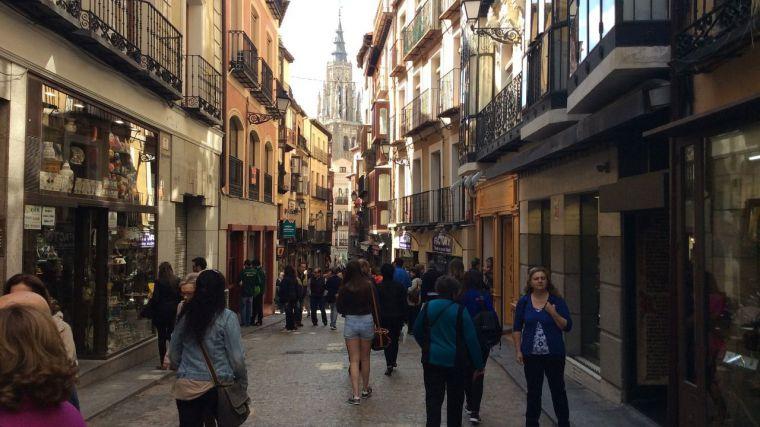 Calle del Comercio en Toledo